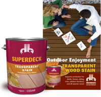 Superdeck Transparent Stain comes in 10 different colors
