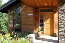 Real cedar siding requires minimal maintenance.