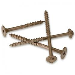 "SDWS and SDWH Timber Screws come in 3"" to 10"" lengths."